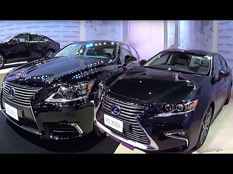 new 2016, 2017 lexus ls 600h vs lexus es 300h video review - youtube