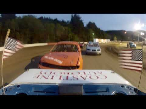 Coos Bay Speedway 5-5-18 Hornet Main Event Rear View