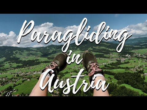 How is it like to do paragliding in Vorarlberg, Austria? - Fotostrasse