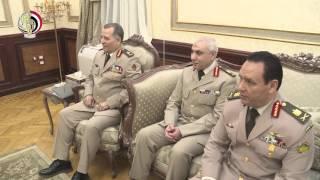 شاهد.. المتحدث العسكري ينشر فيديو للقاء رئيس الأركان بنظيره الكيني