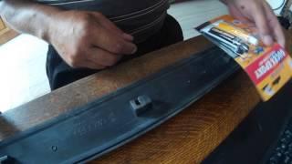 Repairing plastik moulding (qoliplar) eshik ekranga VW Passat B3