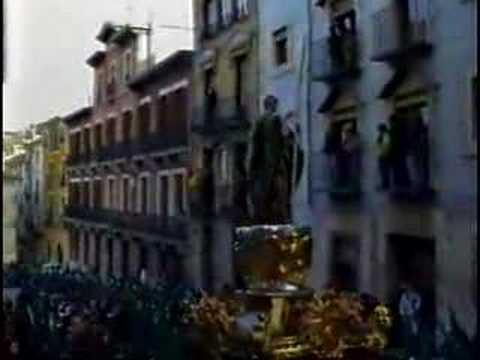 San Juan Evangelista. Viernes Santo Cuenca. 1992