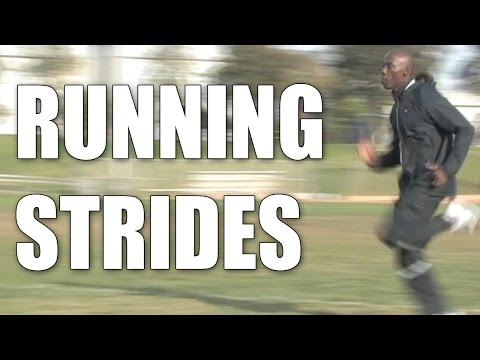 Running Strides : Khadevis Robinson