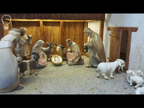 Nativity Scene out of Wood (Part 1 of 3)-The Shed