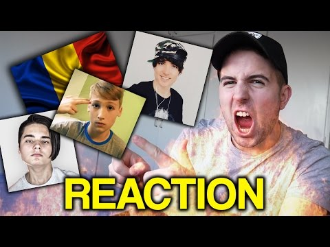 REACTING TO ROMANIAN YOUTUBERS 3 (ft. ilie's vlogs, iRaphahell, Selly, xSlayder)