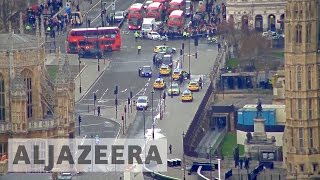 Westminster attack: 'Terrorist incident' outside UK parliament by : Al Jazeera English