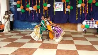 APSWRS nuzvid girls cutest performance