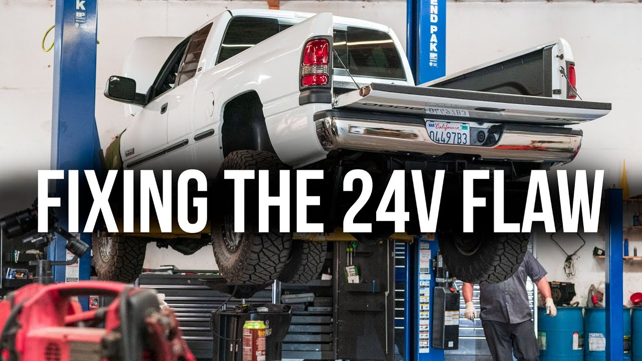 Why Your 24v 2nd Cummins Needs A Lift Pump | Installing a Fass to Save My VP44