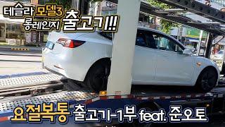 테슬라 모델3 롱레인지 출고기-1부 feat.준오토│멀…
