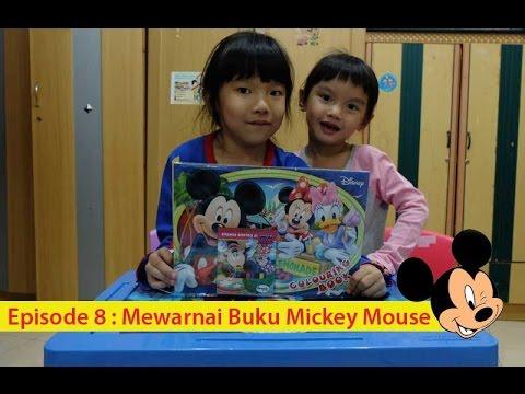 Mewarnai Buku Gambar Mickey Mouse Disney Coloring Book Of Mickey