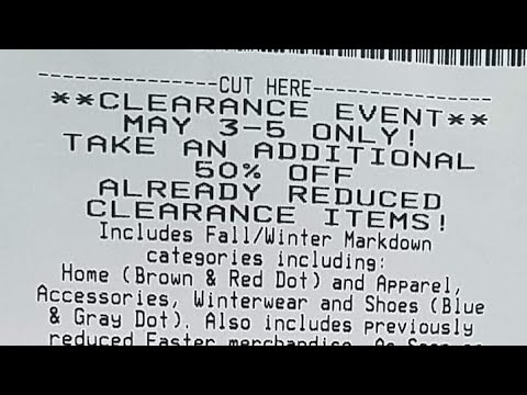 Dg! Clearance Event 5-3/5-2019