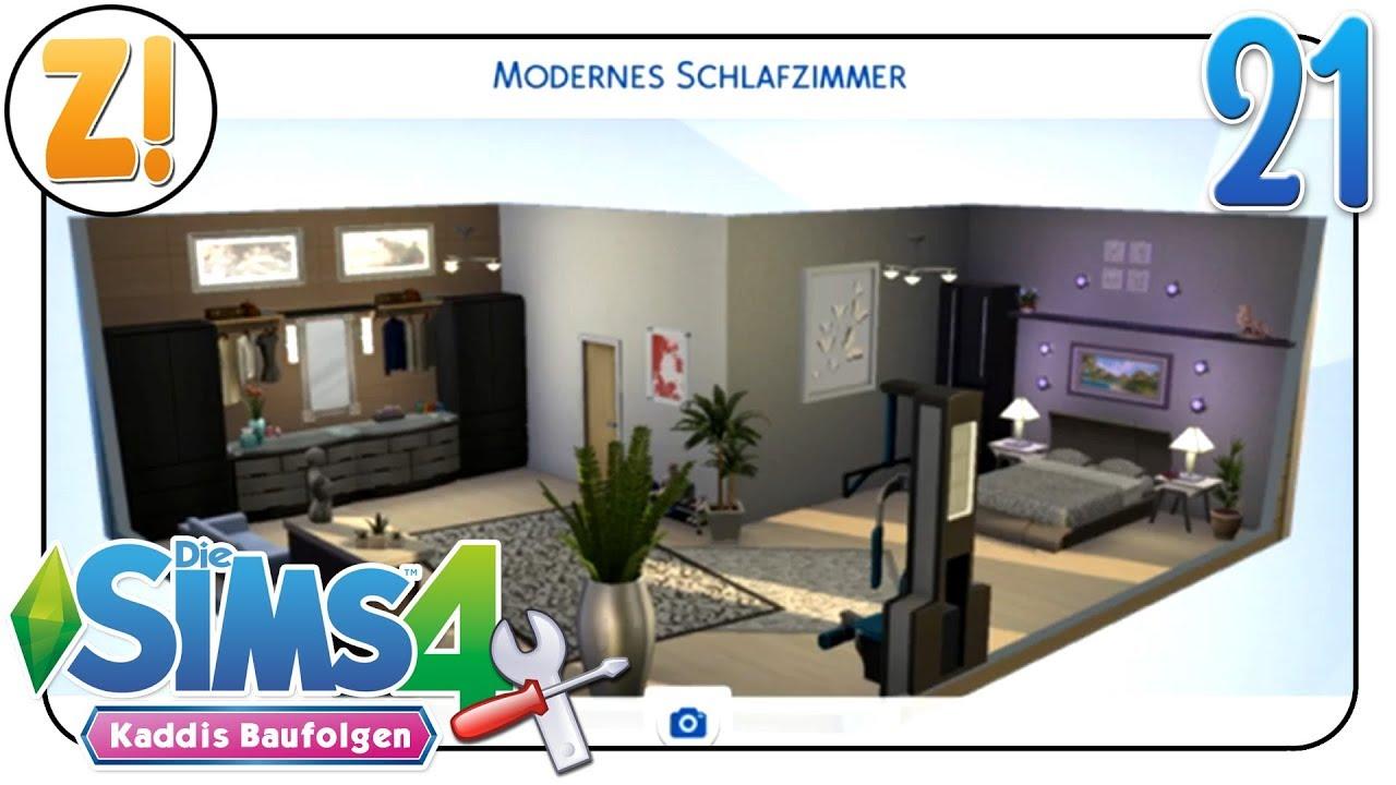 Sims 4 Kaddi S Baufolgen Modernes Schlafzimmer Ohne Packs