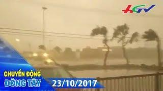 Nhật Bản thiệt hại nặng nề do siêu bão Lan   CHUYỂN ĐỘNG ĐÔNG TÂY - 23/10/2017