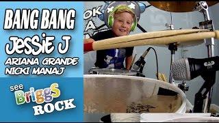 Bang Bang Jessie J Ariana Grande Nicki Manaj Official Drum Cover