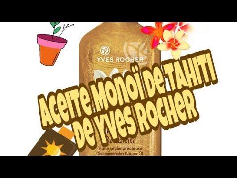 Yves Rocher Aceite seco con glitter Monoï de Tahiti (Precius Dry Oil)