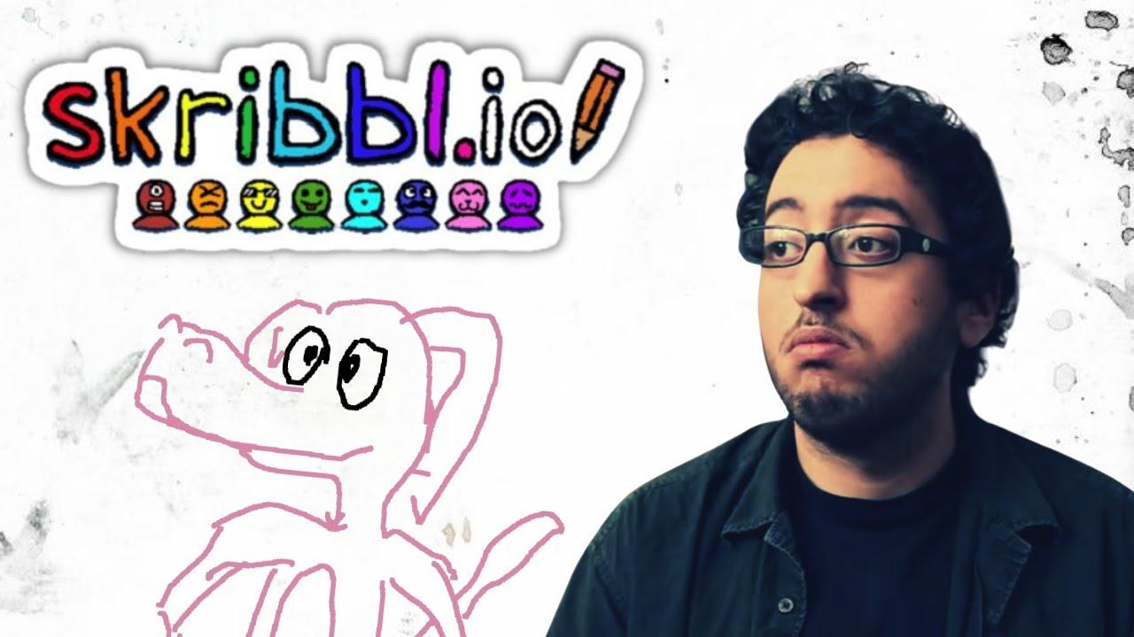 Karim Debbache – Skribbl.io   Life of Pablo avec Antoine Daniel, Fred et Seb du grenier.
