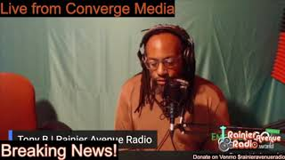 BREAKING! Rainier Avenue Radio Launches Community Voter Engagement Efforts. Tony B on Converge Media