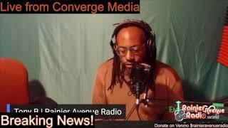 BREAKING! Rainier Avenue Radio Launches Community Voter Engagement Efforts. Tony B on Converge Media