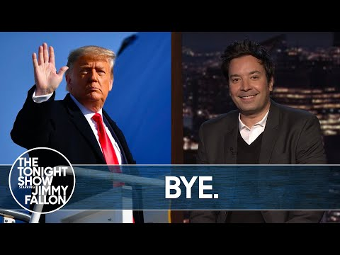 The Last Night of Donald Trump's Presidency | The Tonight Show