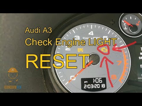 ▶️How to Reset Audi A3 Check Engine Light 2004 2005 2006 2007 2010 2012  2013▶️w/ Helpful Tips
