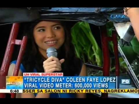 Ride and sing like the 'Tricycle Diva,' Coleen Faye Lopez | Unang Hirit