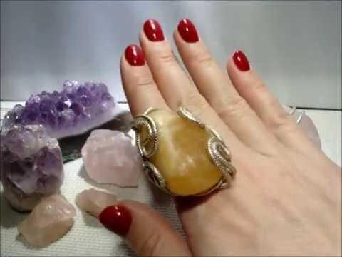 Крупные и очень крупные кольца с натуральными камнями