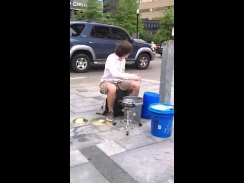 Zach Adams Kentucky Street Performer