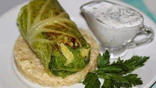 Голубцы из савойской капусты Богатые  Пошаговый рецепт