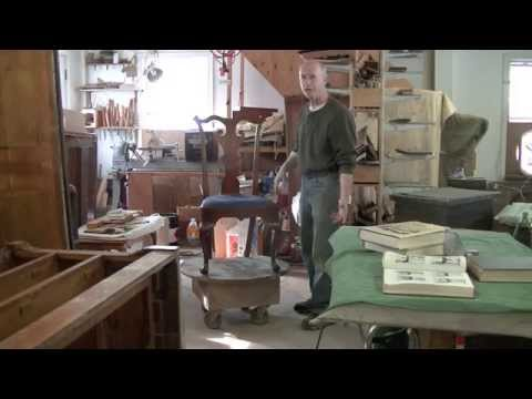 Repairing an 18th Century Chippendale Side Chair - Thomas Johnson Antique Furniture Restoration