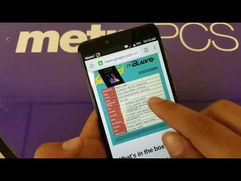 New metroPCS  ZTE Blade Zmax All You Need To Know whats good and Whats bad