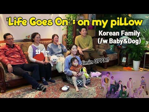 [ENG] BTS 방탄 - 'Life Goes On' Official MV : on my pillow REACTION 리액션 / Korean ARMY Family Reaction