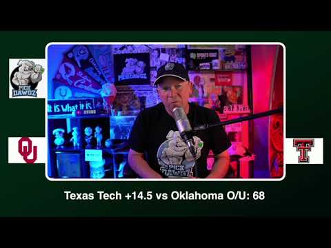 Texas Tech vs Oklahoma Free College Football Picks and Predictions CFB Tips Saturday 10/31/20