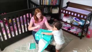 Toddler Unboxing: Pampers Easy Ups