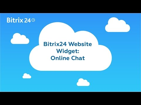Bitrix24 Website Widget - Online Chat