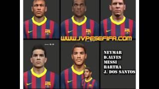 Formação do F.C Barcelona