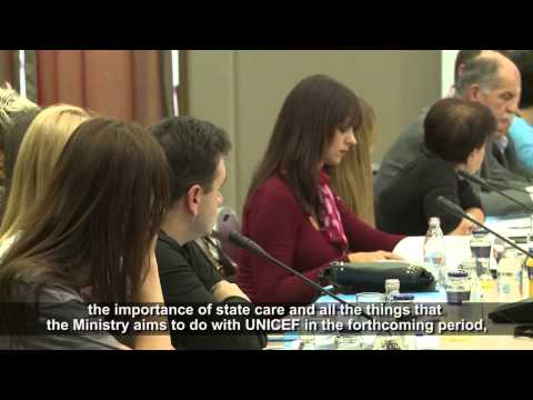 """UNICEF MNE - Roundtable """"Children in state care in the media in Montenegro"""""""