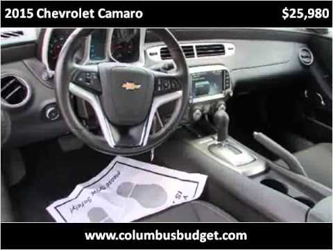 2015 chevrolet camaro used cars columbus ga youtube. Black Bedroom Furniture Sets. Home Design Ideas