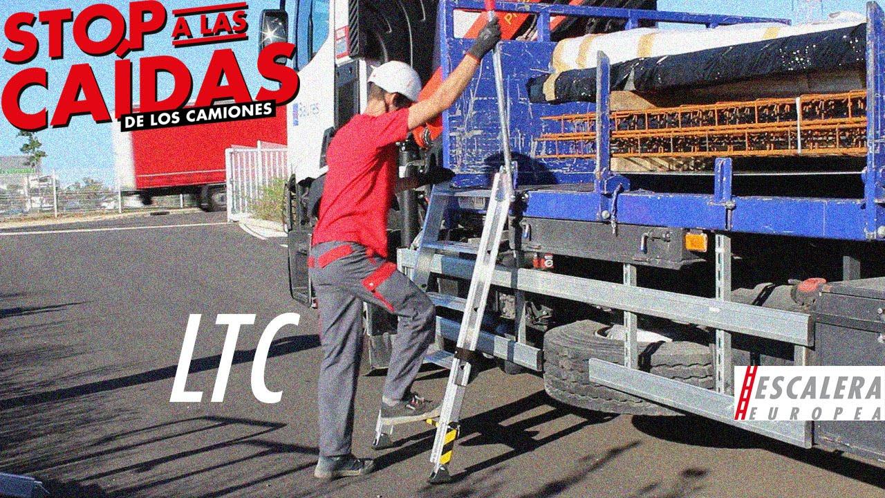 Ltc escalera para el acceso a las plataformas de los - Escaleras de mano ...