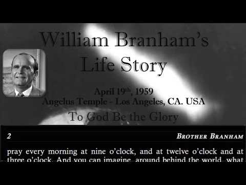 William Branham's Life Story