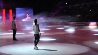 Открытие Шоу Олимпийских Чемпионов 6 сентября, МСА Лужники