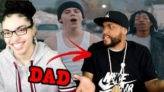MY DAD REACTS TO The Kid LAROI - Diva ft. Lil Tecca (Dir. by @_ColeBennett_) REACTION
