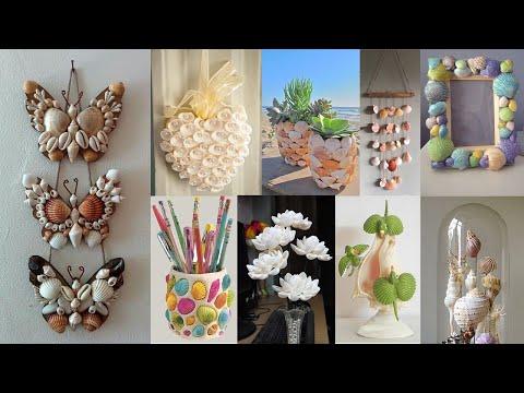 10 Home Decorating Ideas Handmade With Seashell | Seashell Craft Ideas