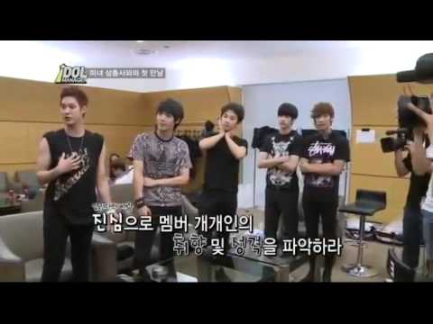 [MBLAQ] Idol Manager EP.1 - English Sub