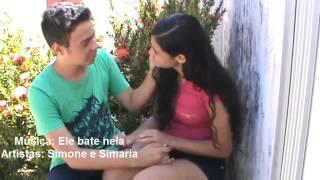 PARÓDIA (VIOLÊNCIA CONTRA A MULHER)| Ele Bate Nela Simone e Simaria
