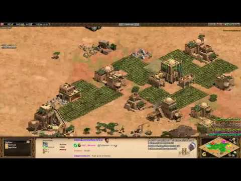 Aoe2 HD: FFA King of the Hill (New Patch 4.8!)