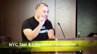 Reform The New York City Taxi & Limousine Commission Now! (NYC TLC Hearing 10/3/2018)