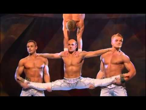 Hand to hand acrobatic group act 0080 by Paruvintov Production