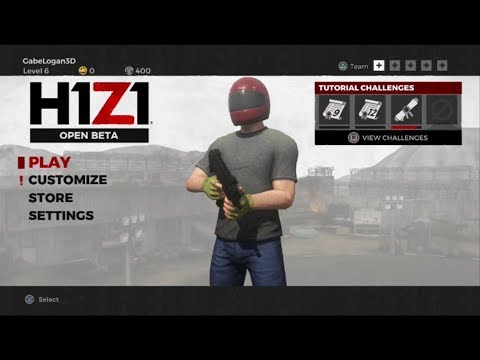 H1Z1: Battle Royal PS4 Con Logan