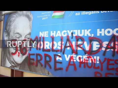 Hungary: Government targets billionaire Soros with poster campaign