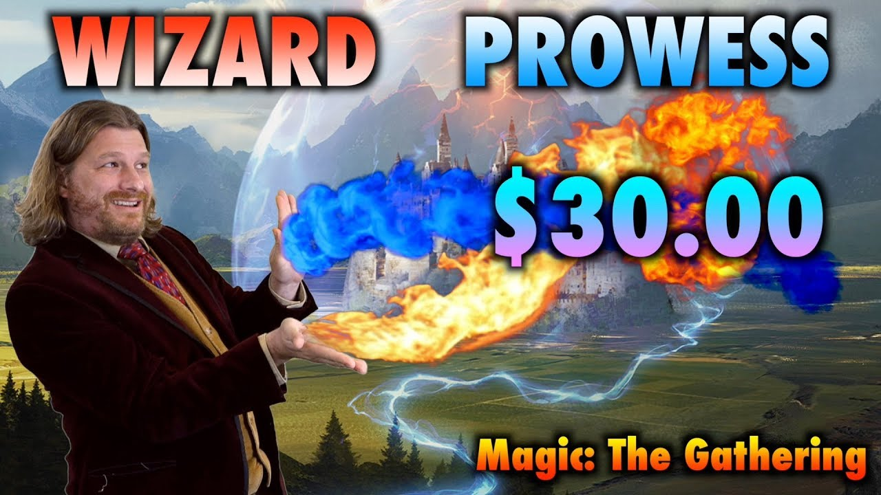 MTG - Where to start in Dominaria Standard? The $30 Wizard Prowess Budget  Deck! Magic: The Gathering